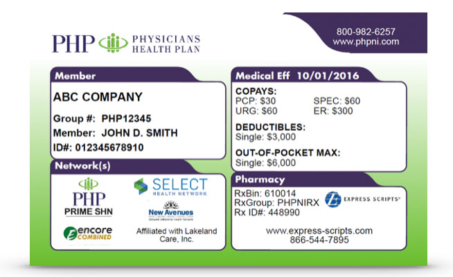 PHP Health Insurance Member | Physicians Health Plan
